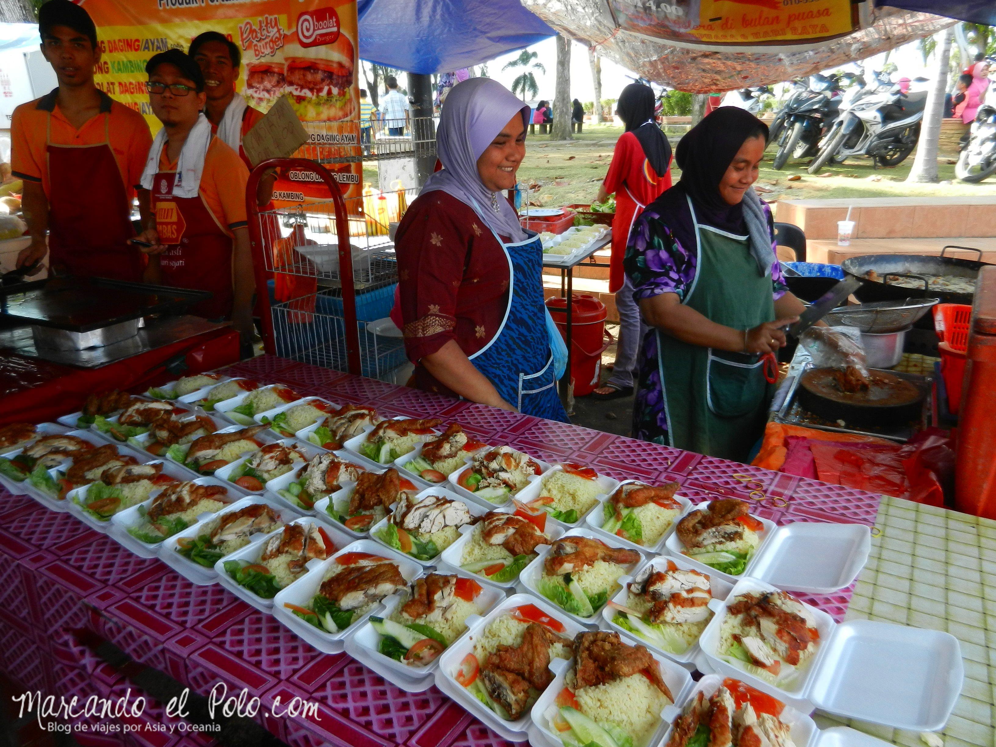 Comida de Ramadan, Malasia