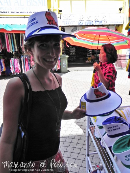 Itinerario viajar a Malasia: suvenires en Jalan India, Kuching