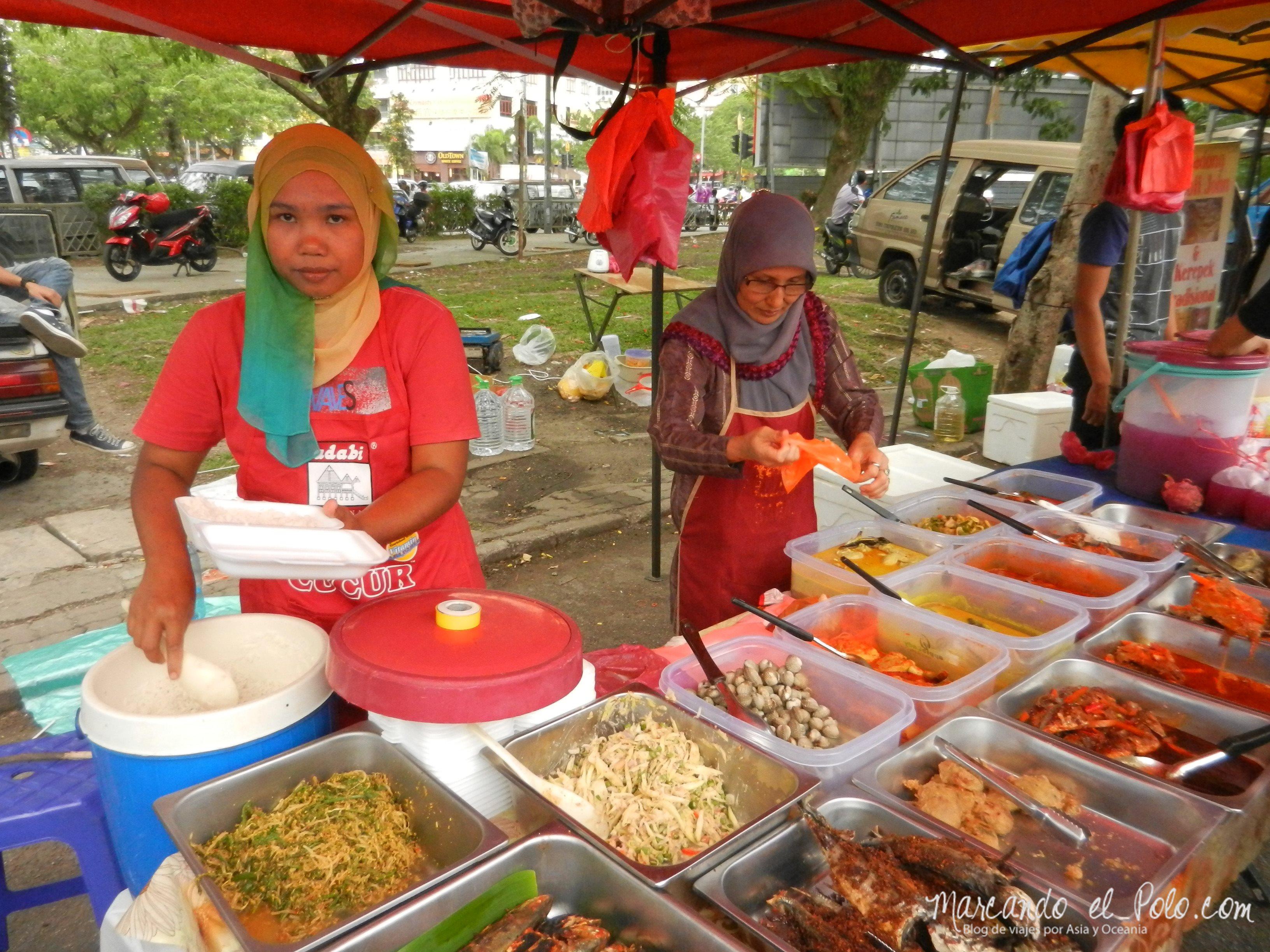 Mercado de Ramadan, Malasia