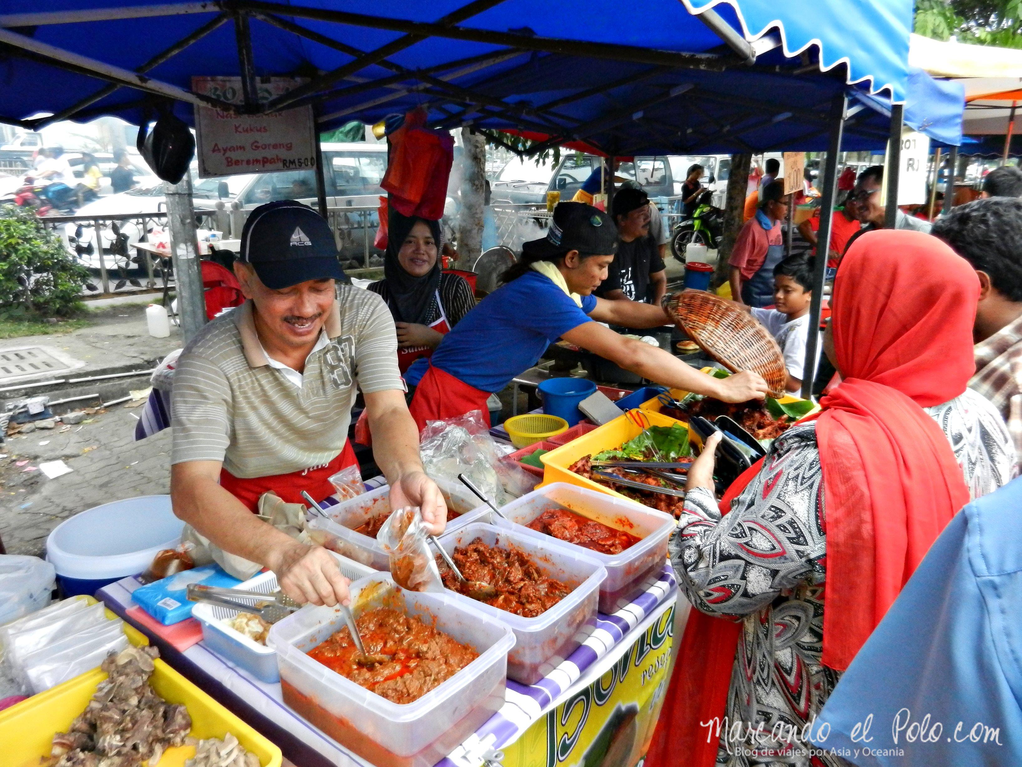 Mercado Ramadan, Malasia