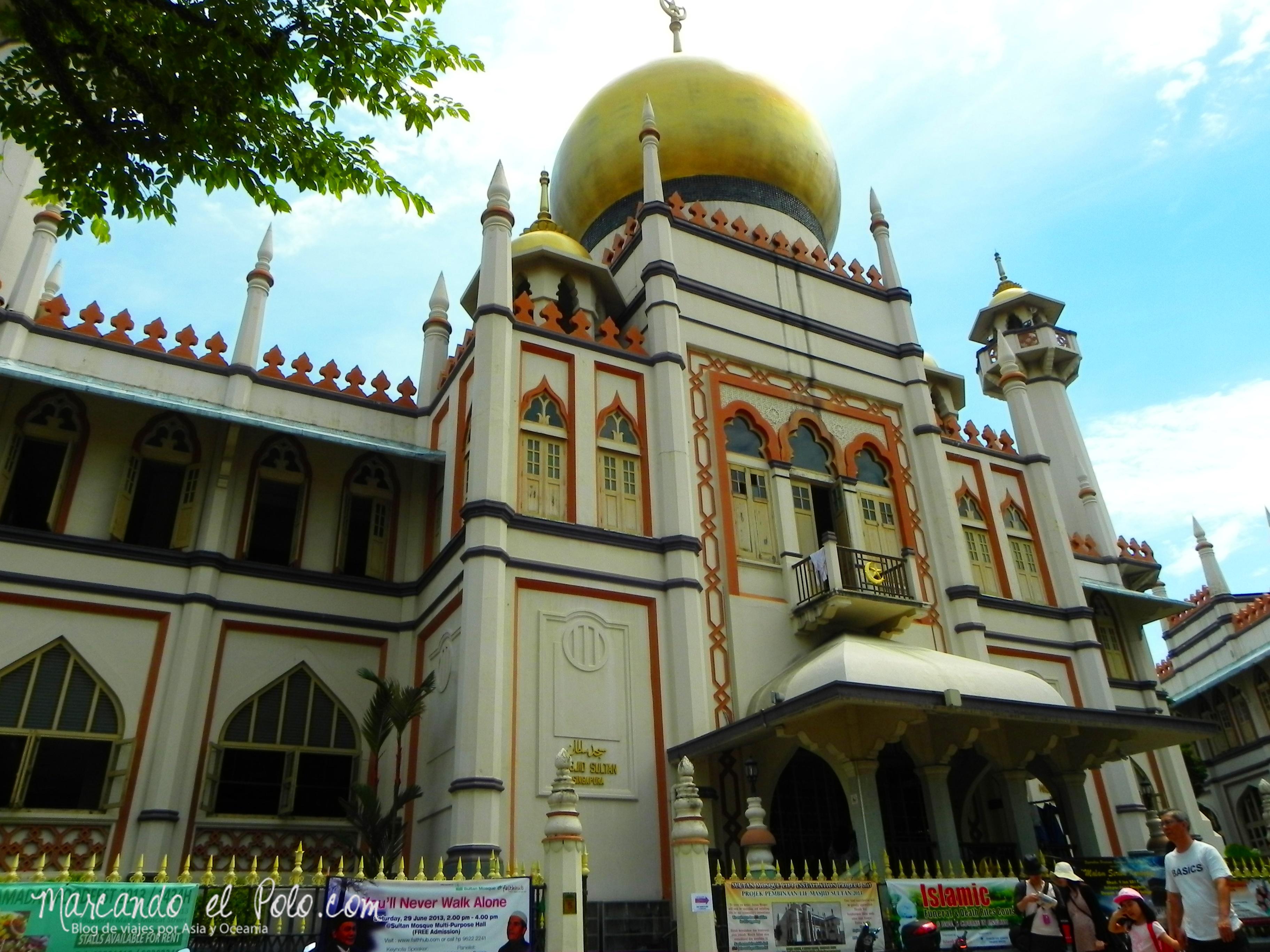 Mezquita del Sultán en Kampong Glam, Singapur