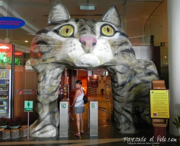 Itinerario viajar a Malasia: museo de los gatos, Kuching