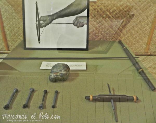 Itinerario viajar a Malasia: museo de Kuching