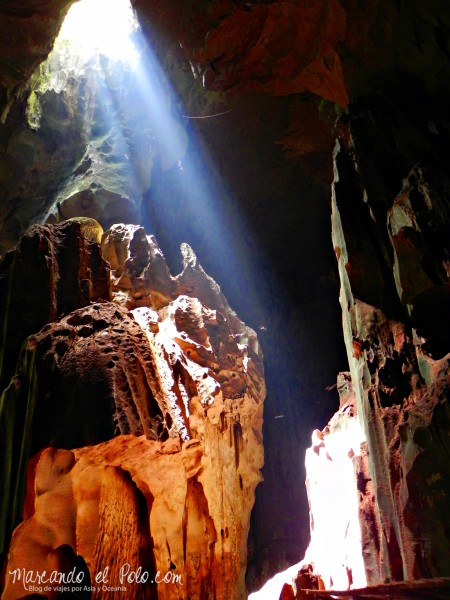 Itinerario viajar a Malasia: Interior de las Cuevas Niah, Borneo