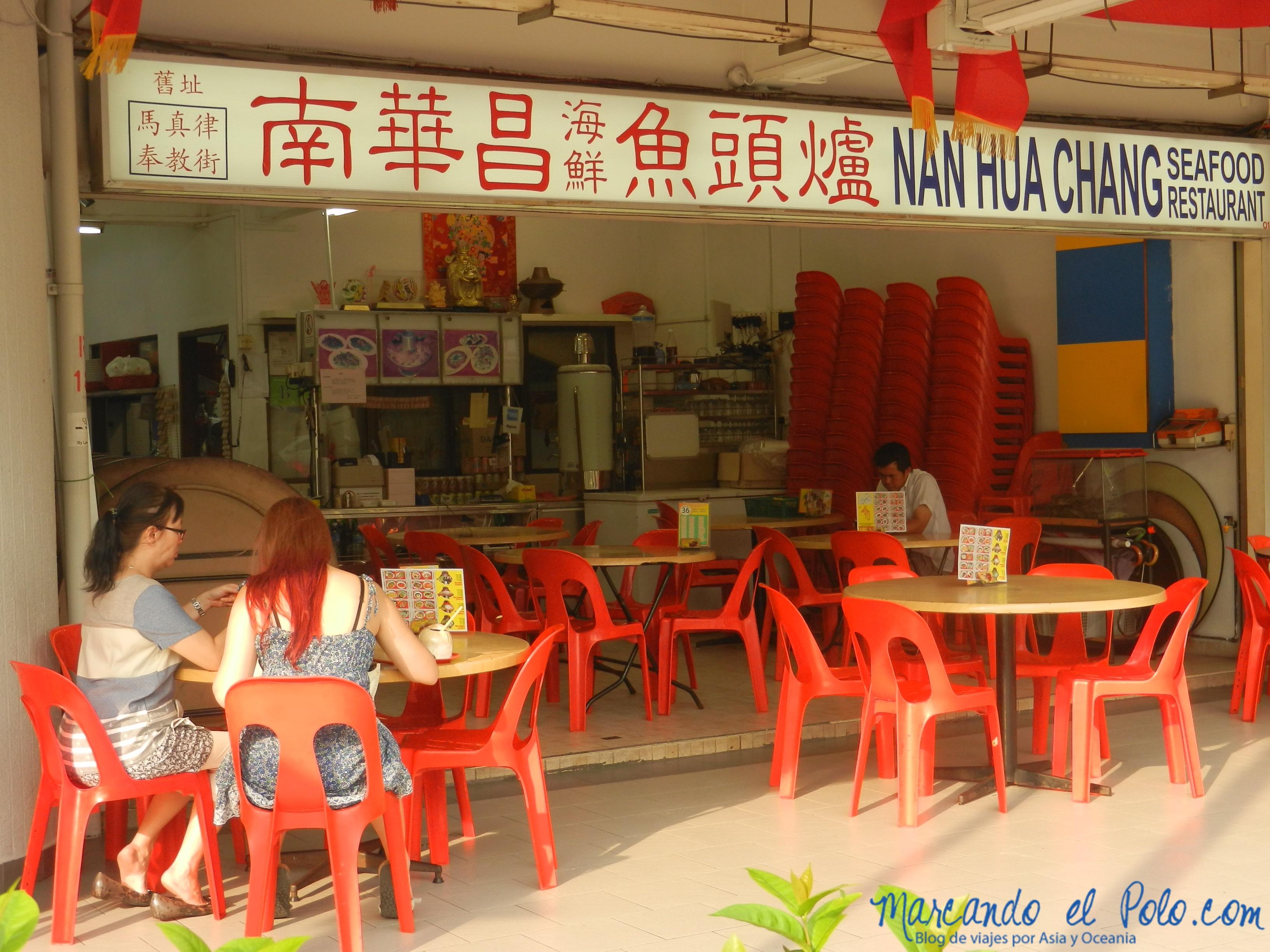 Restaurante chino, Singapur, Asia