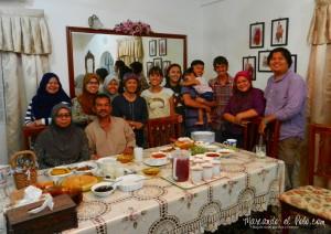 Terminando el ayuno de Ramadán en Kuala Lumpur