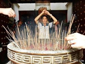 Viajar a Singapur - Templo budista en el barrio chino