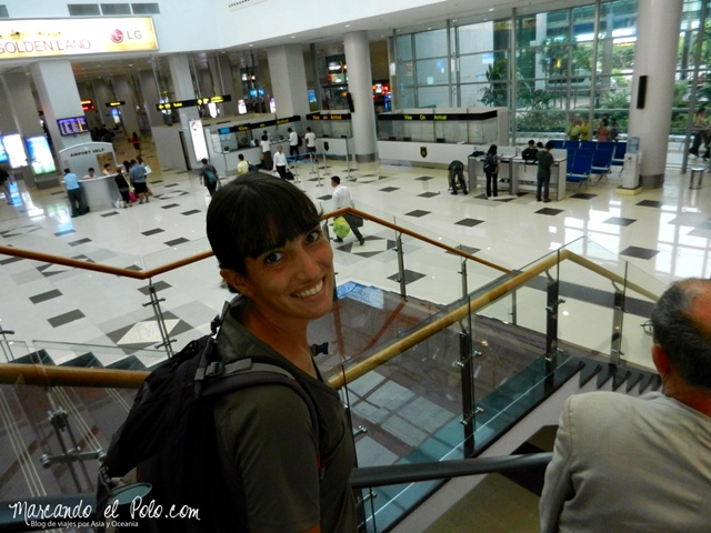 Viajar a Myanmar - Aeropuerto Yangon