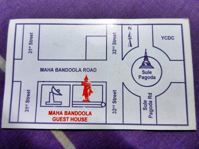 Viajar a Myanmar - mahabandoola guesthouse, Yangon