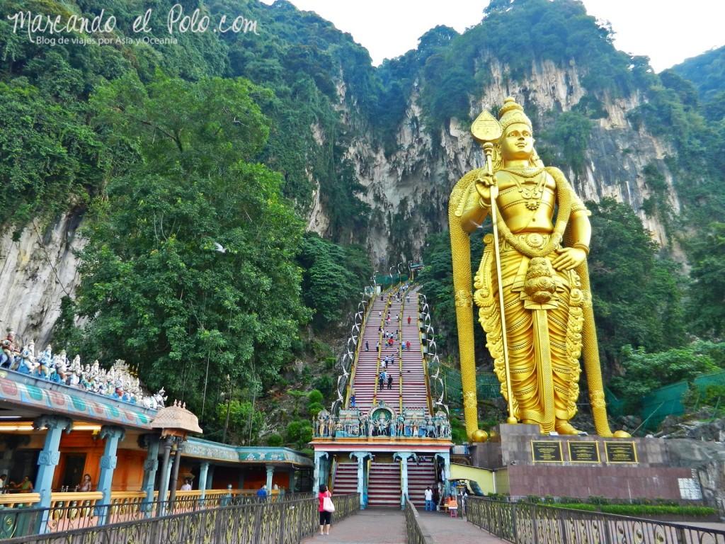 Itinerario viajar a Malasia: Batu Caves, Kuala Lumpur