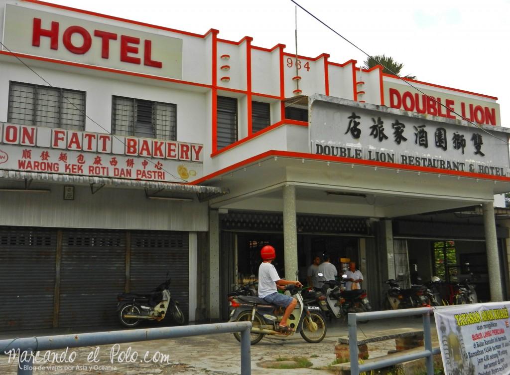 Itinerario viajar a Malasia: Hotel Double Lion, Kuala Kangsar