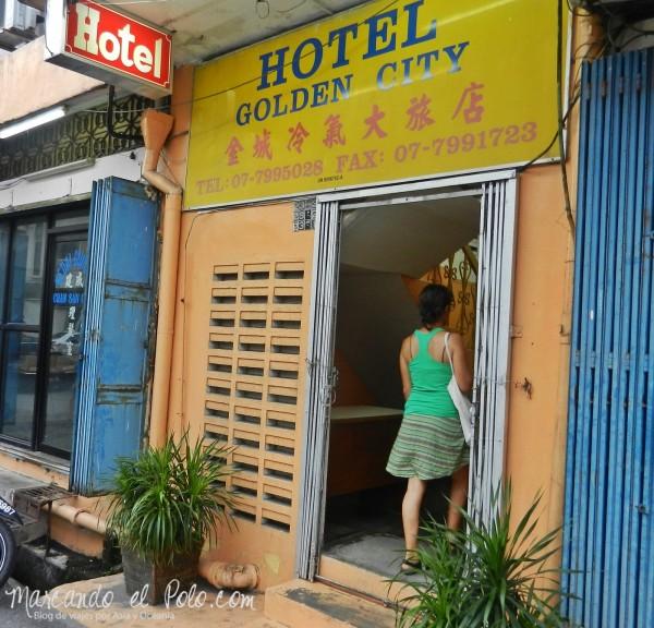 Itinerario viajar a Malasia: Hotel Golden City