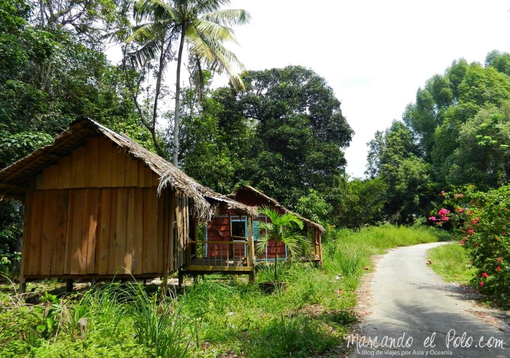 Itinerario viajar a Malasia: Kampung Gumum