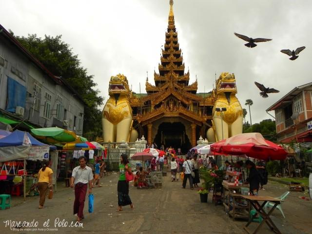 Viajar a Myanmar - Shwedagon Pagoda, Yangon