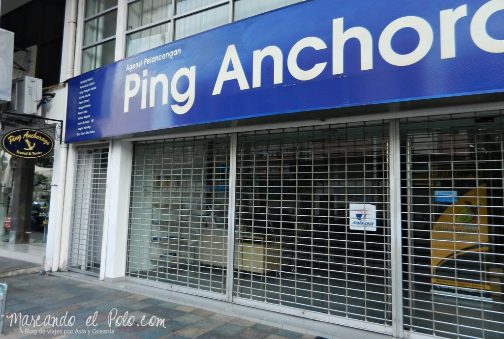 Itinerario viajar a Malasia: Entrada de Ping Anchorage, Kuala Terengganu
