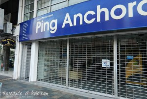 Ping anchorage, Kuala Terengganu, Malasia