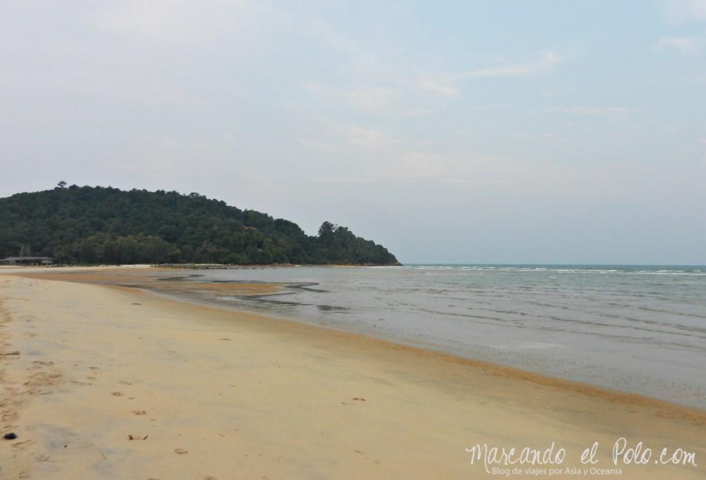 Itinerario viajar a Malasia: Playa de Cherating