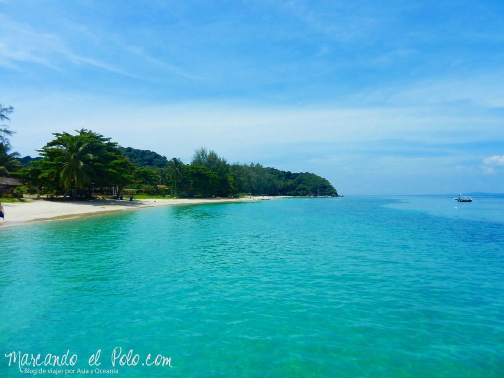 Itinerario viajar a Malasia: Nada de photoshop, así es la playa de Kapas