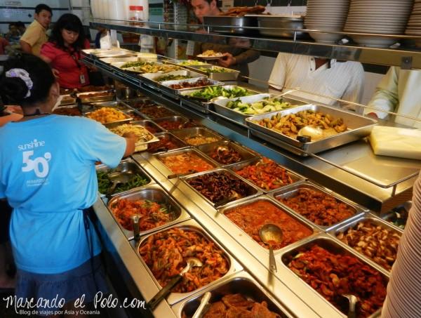 Comida vegetariana Sudeste asiatico - Malasia