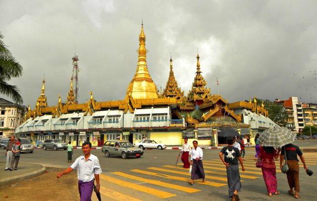 Presupuesto viajar a Myanmar - Sule Pagoda