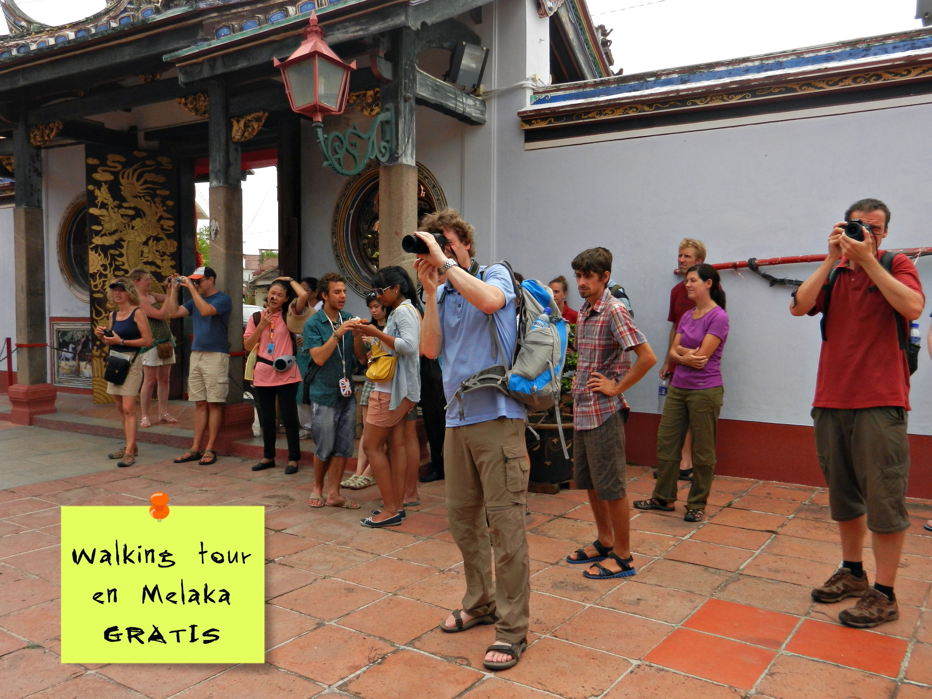 Tour gratis en Melaka, Malasia