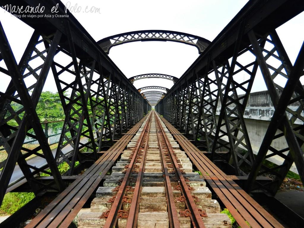 Itinerario viajar a Malasia: Victoria Bridge, Kuala Kangsar