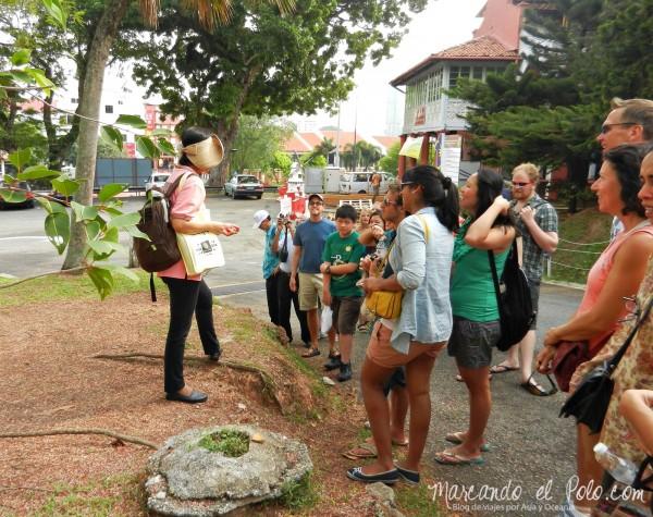 Itinerario viajar a Malasia: Visita guiada gratis en Melaka