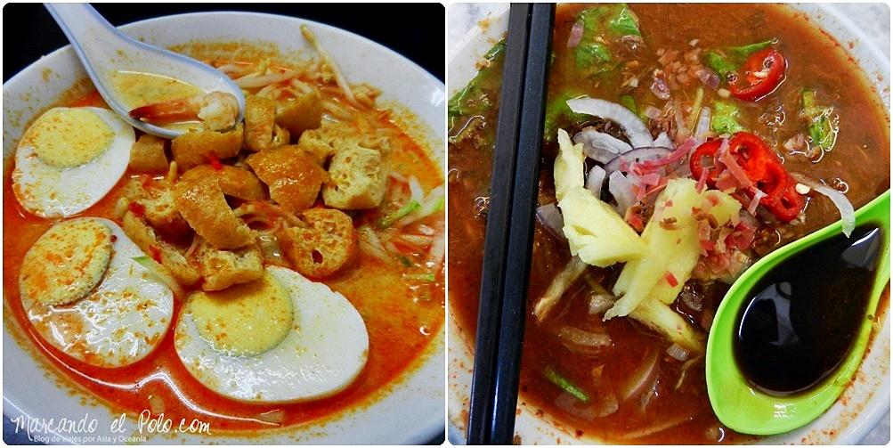 Comida Sudeste asiatico - Laksa, Malasia
