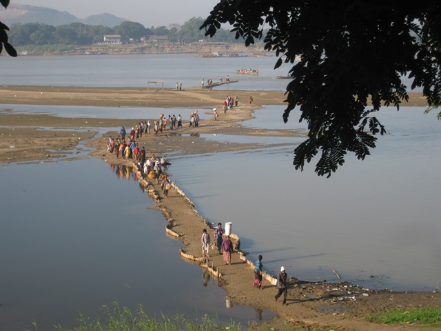 Myanmar a India por tierra: puerto Monywa