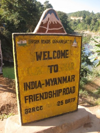 Myanmar a India por tierra: welcome to India