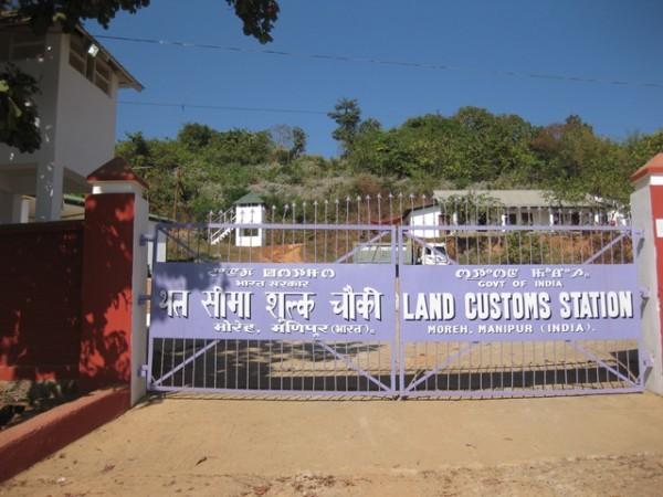 Myanmar a India por tierra: inmigracion India