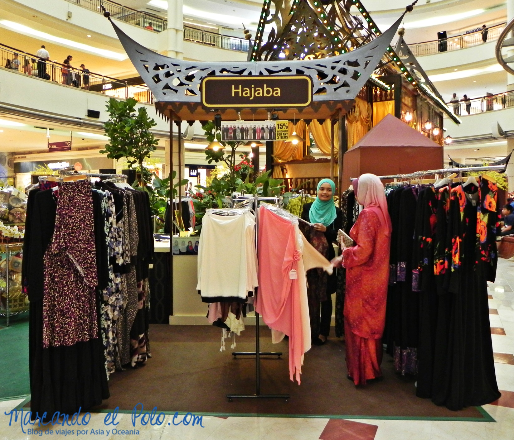Fatima, ¿vos qué te vas a poner para Hari Raya?