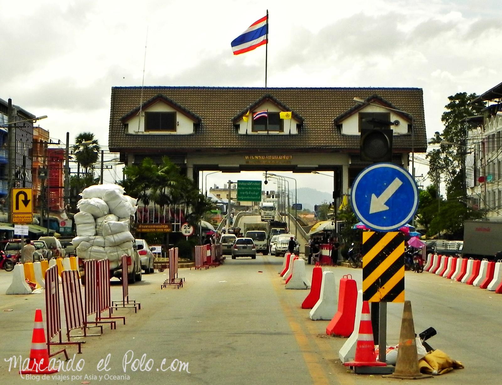 Frontera Mae Sot - Myawaddy