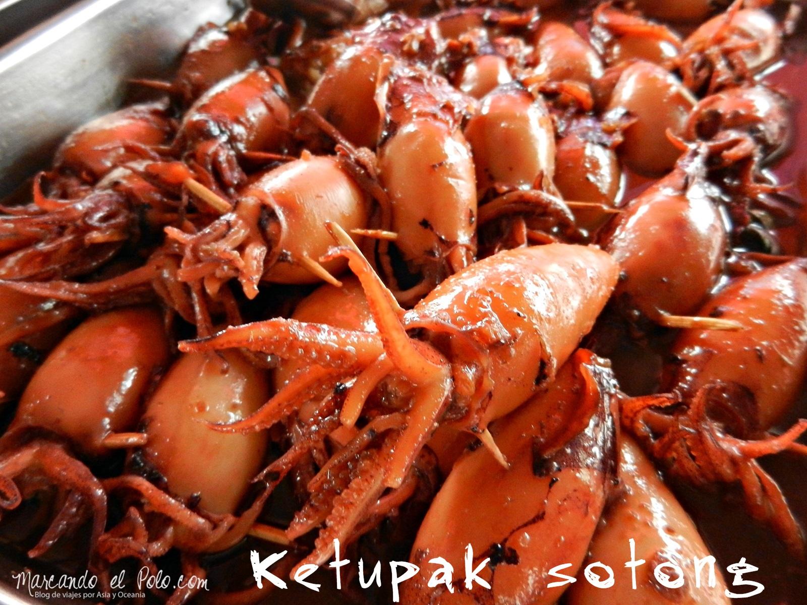"""Ketupang sotong, más conocido por nosotros como """"el arruina flanes"""". Aunque no lo creas es un postre"""