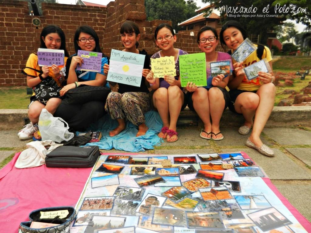 Postales en Melaka, Malasia 5