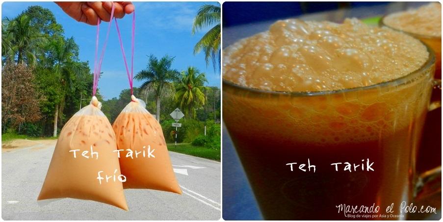 Teh tarik en sus dos versiones, Malasia
