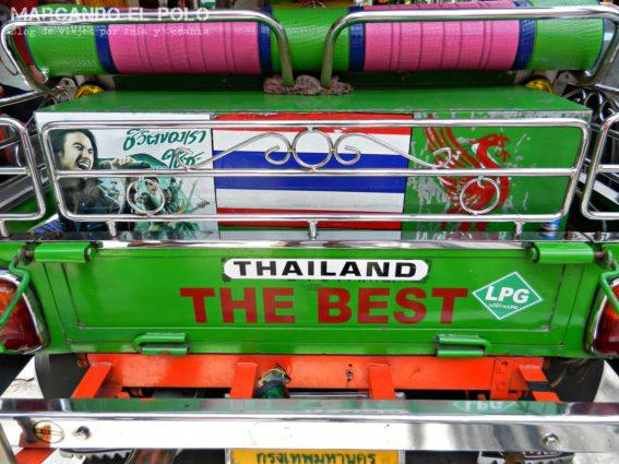 Viajar a Tailandia. Tuk-tuk