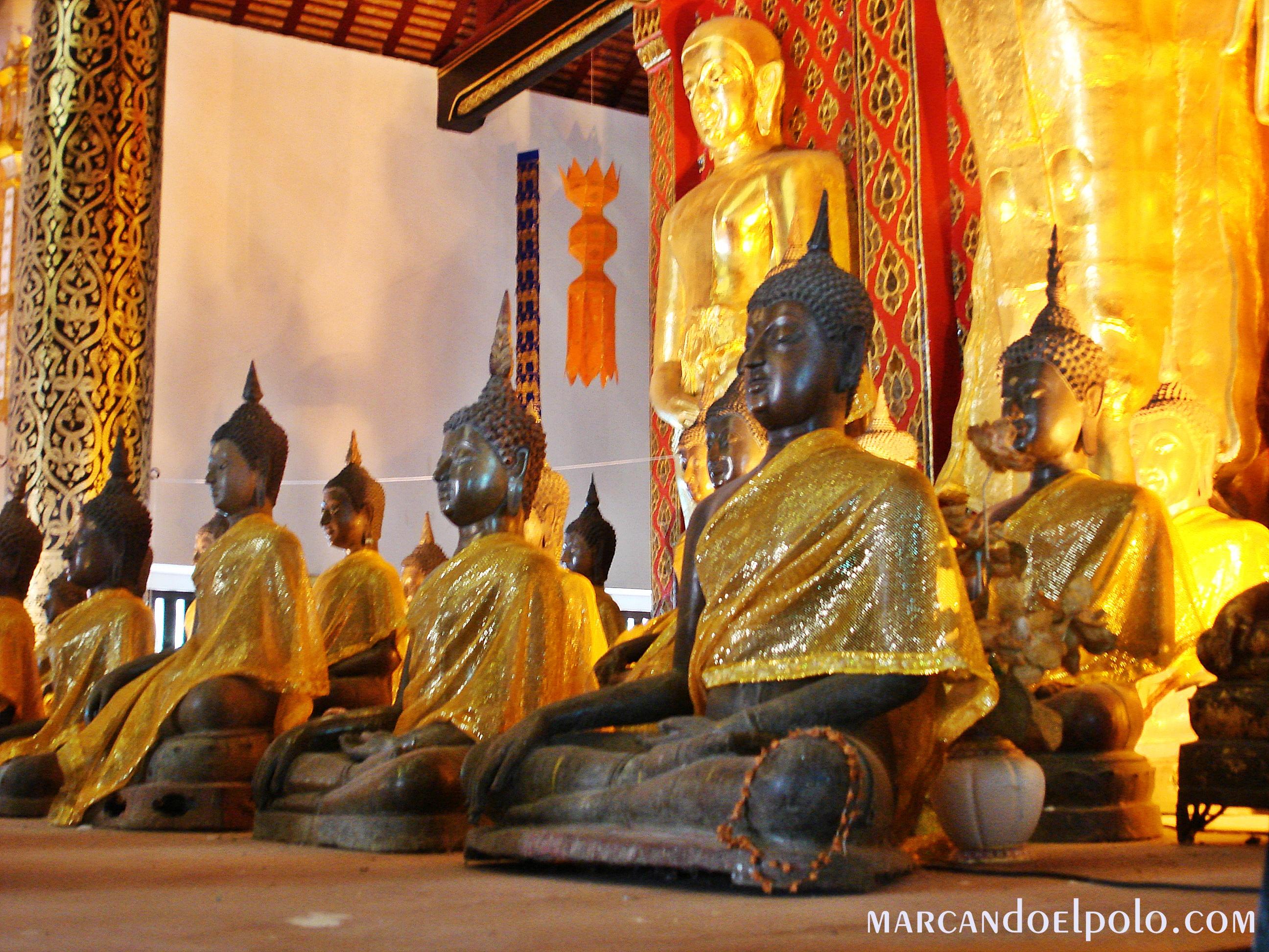 Budismo: Templo de Chiang Mai, Tailandia