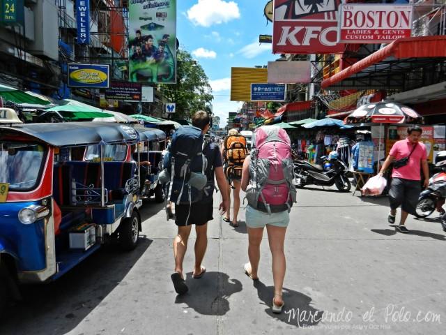 Primer viaje a Bangkok: Khao San Rd