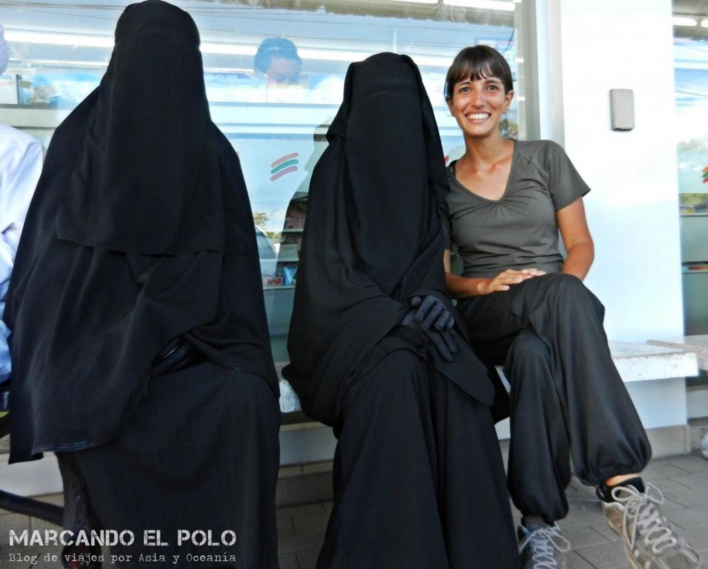 Musulmanas viajeras, Sur de Tailandia I