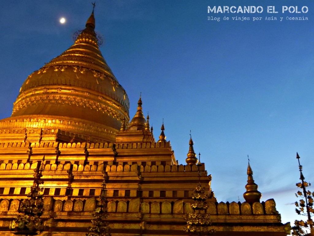 Pagoda en Bagan
