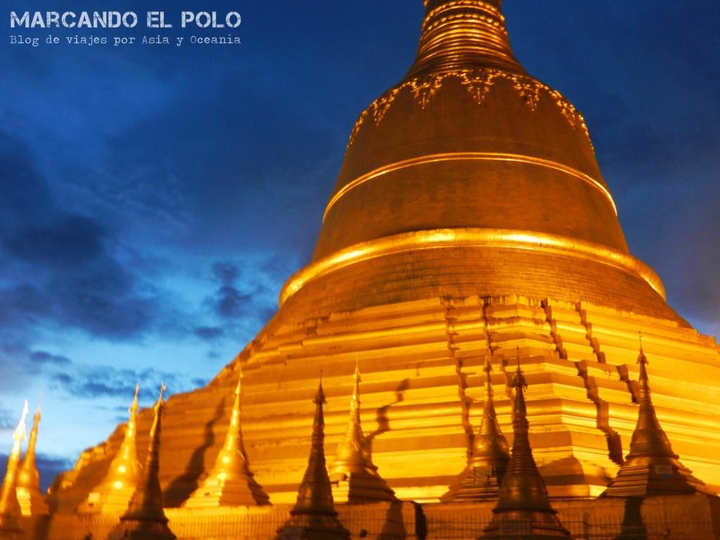 Pagoda en Bago