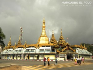 Viajar a Myanmar - Sule Pagoda, Yangon