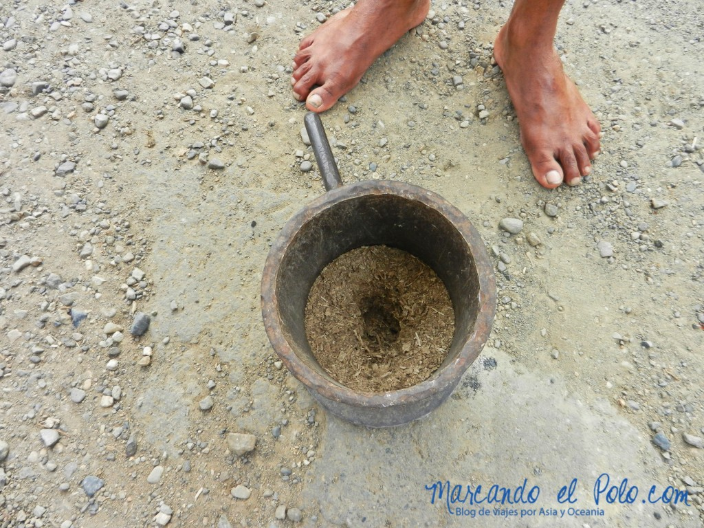 Kava machacada en Fiyi