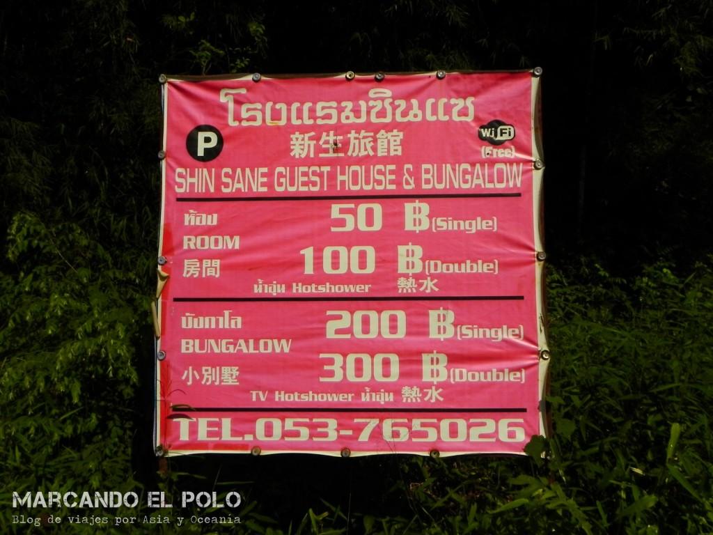 Alojamiento en Mae Salong, Tailandia