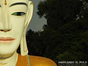 Itinerario para viajar a Myanmar: buda gigante, Pyay