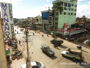 Itinerario para viajar a Myanmar: calles de Bago