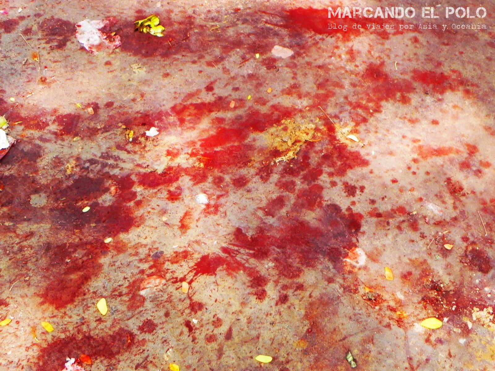 Escupidas en Myanmar, Mandalay
