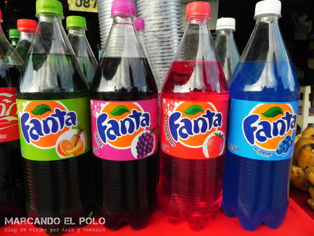 Para tomar, ¿de qué color querés tu Fanta?