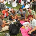 En buena compañía: Lau y Álvaro de Klando va de viaje, Amy desde Holanda y Ana y Zequi desde España :)